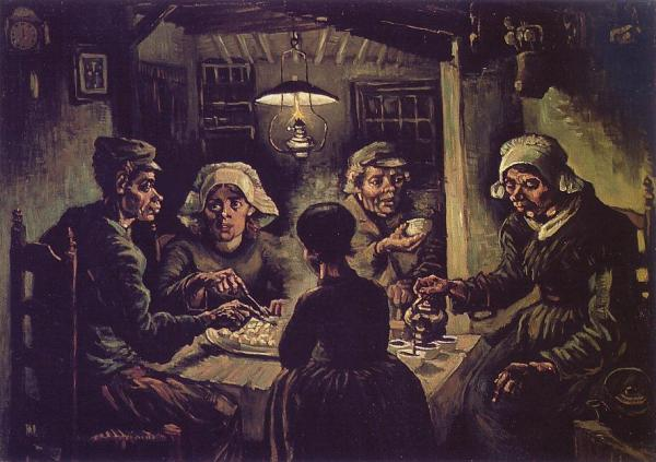The potato eaters (1885)