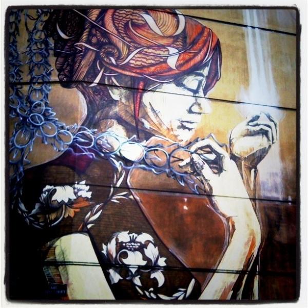 Street art, Tsimiski Str., Thessaloniki
